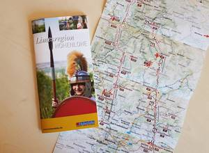 Broschüre Limesregion Hohenlohe